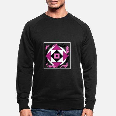 Graffiti Pink abstract art - Men's Organic Sweatshirt