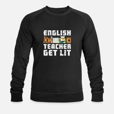 English English teacher - Men's Organic Sweatshirt