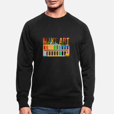Gallery Artist art gallery - Men's Organic Sweatshirt