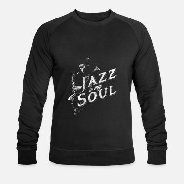 Jazz Soul Jazz Music - Mannen bio sweater