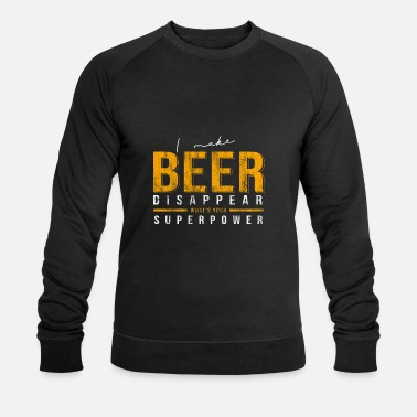 Liqueur Beer liqueur superpower - Men's Organic Sweatshirt