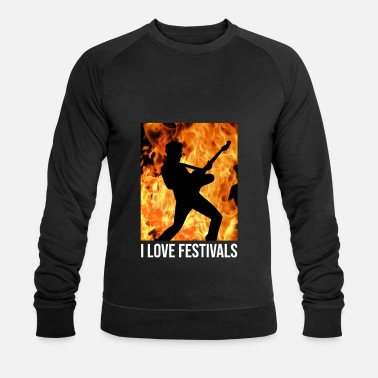 Rock Am Ring Rock Music Festival Rock on Ring in the Park Gift - Men's Organic Sweatshirt