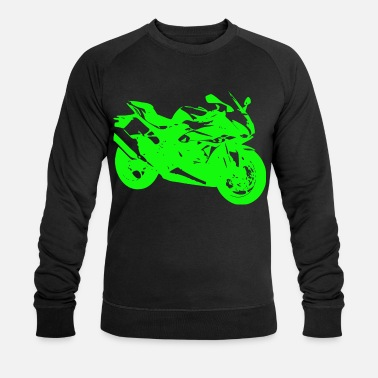Racing Machine Motorcycle racing machine - Men's Organic Sweatshirt