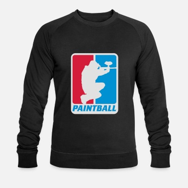 Paintball paintball - Sweat-shirt bio Homme