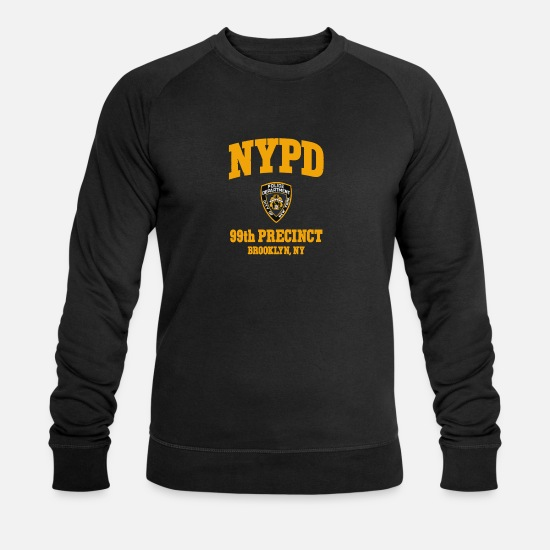 Brooklyn Hoodies & Sweatshirts - 99th Precinct Brooklyn NY - Men's Organic Sweatshirt black