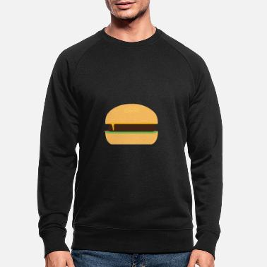 Cheeseburger Cheeseburger - Men's Organic Sweatshirt