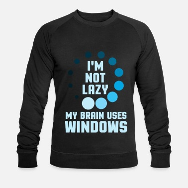 Windows Je ne suis pas un programmeur Windows - Sweat-shirt bio Homme