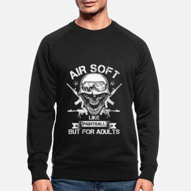 Air Gun Airsoft For Adults Funny Guns Air Guns Shooting - Men's Organic Sweatshirt