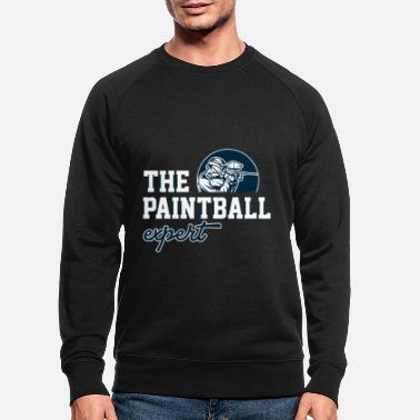 Paintball Paintball Expert Paintball Player Paintball - Sudadera orgánica hombre