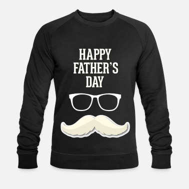 Fars Dag Fars Dag Far Grand Dad Dad Daddy Gave Idee - Økologisk sweatshirt mænd
