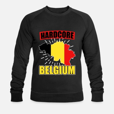 National Colours Belgium nationality national colors - Men's Organic Sweatshirt