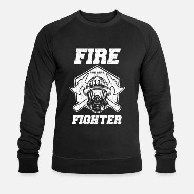 Firefighter Firefighter woman Firefighter Firefighters - Men's Organic Sweatshirt