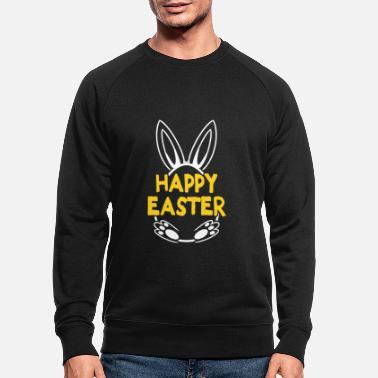 Happy Easter Easter Egg Easter - Men's Organic Sweatshirt