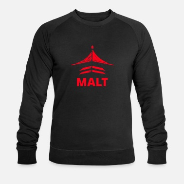 Turntable Malt große Pagode – Fan Shirt Whisky Turntable - Männer Bio Pullover