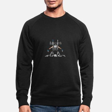Lyon Rugby Toulousain RUGBY 15 players gray - Men's Organic Sweatshirt