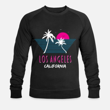 California Los Angeles California Retro Kalifornian lahja - Miesten luomu pusero