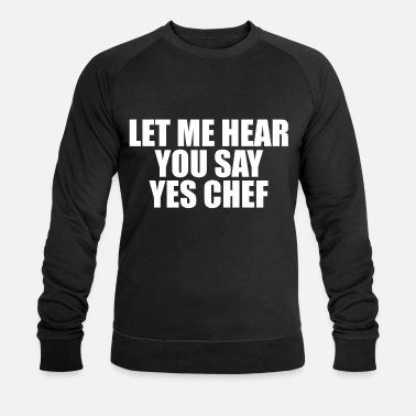 Chef chef - Mannen bio sweater
