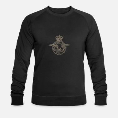 Royal Air Force Insignia de la Royal Air Force - Sudadera orgánica hombre