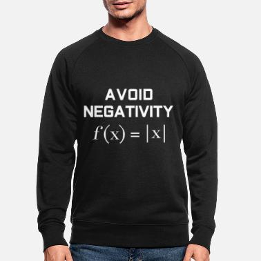 Mathematics Mathematics negativity - Men's Organic Sweatshirt