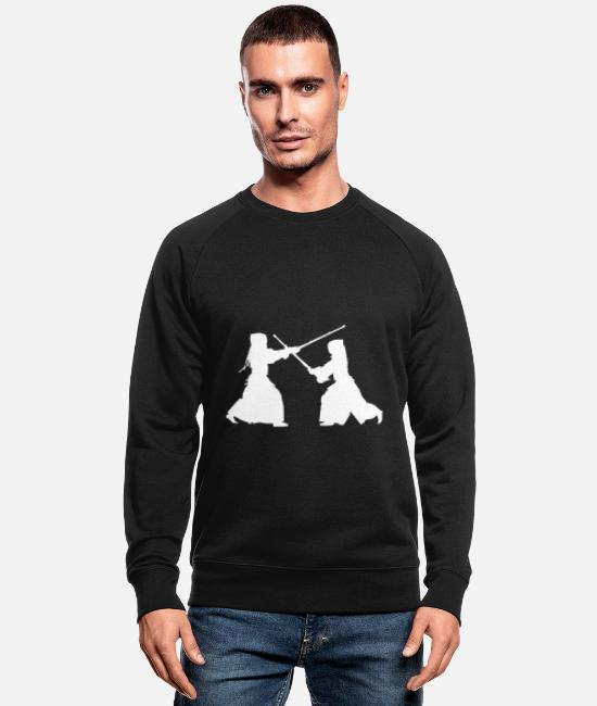 Kata Sweat-shirts - Kendo - Sweat-shirt bio Homme noir