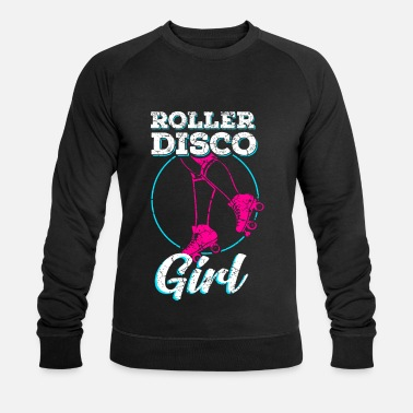 80s Roller skate disco 80s 90s party inline skater - Mannen bio sweater