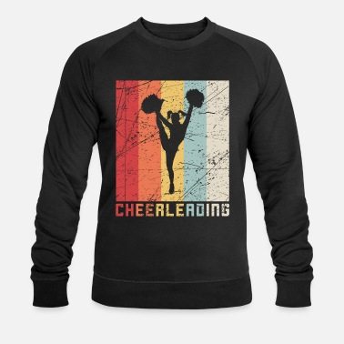 Cheerleader Vintage Cheerleading retrò cheerleader vintage regalo - Felpa ecologica uomo
