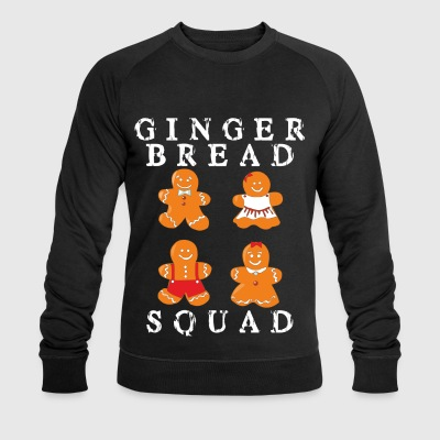Gingerbread family - gingerbread troupe - Men's Organic Sweatshirt by Stanley & Stella