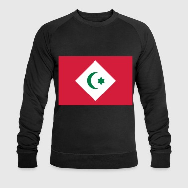 Flag of the Republic of the Rif - Men's Organic Sweatshirt by Stanley & Stella