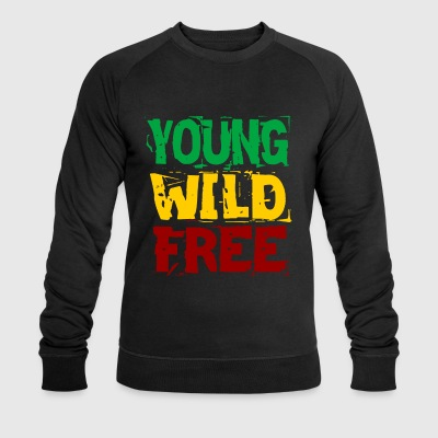 Young Wild Free - Men's Organic Sweatshirt by Stanley & Stella