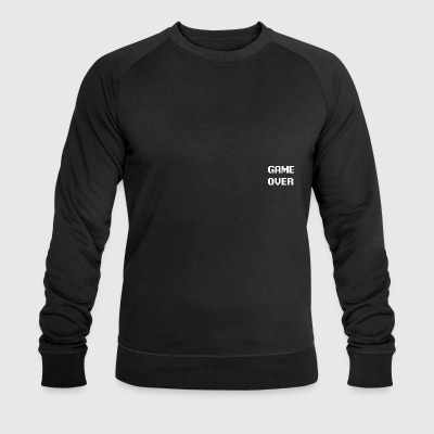 GameovertekstWIT - Sweat-shirt bio Stanley & Stella Homme