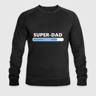 Installing Super Dad (1050) - Men's Organic Sweatshirt by Stanley & Stella