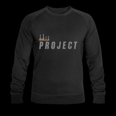 The Project, silver - Men's Organic Sweatshirt by Stanley & Stella