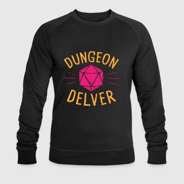 Dungeon Delver yellow pink - Men's Organic Sweatshirt by Stanley & Stella