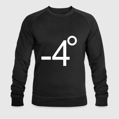 Minus 4 degrees or who sits on the shaft? - Men's Organic Sweatshirt by Stanley & Stella
