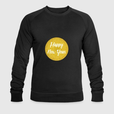 Happy New Year Silvester Design - Männer Bio-Sweatshirt von Stanley & Stella