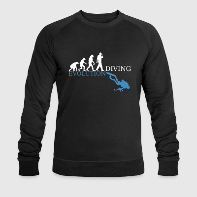 Evolution Diving - Männer Bio-Sweatshirt von Stanley & Stella