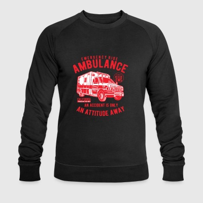 Ambulance Emergency - Men's Organic Sweatshirt by Stanley & Stella