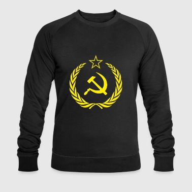 Flag Soviet Union Cold War - Men's Organic Sweatshirt by Stanley & Stella
