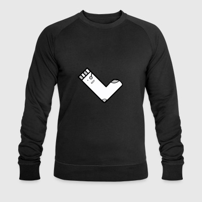 Square sok YouTube Merch - Økologisk Stanley & Stella sweatshirt til herrer