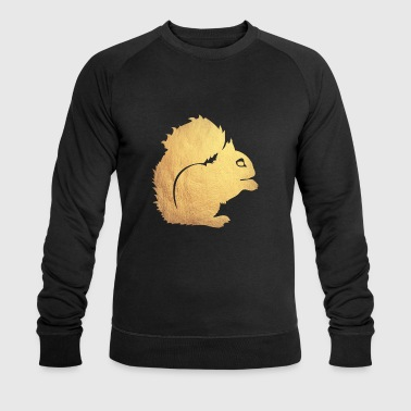 gold squirrel - Men's Organic Sweatshirt by Stanley & Stella