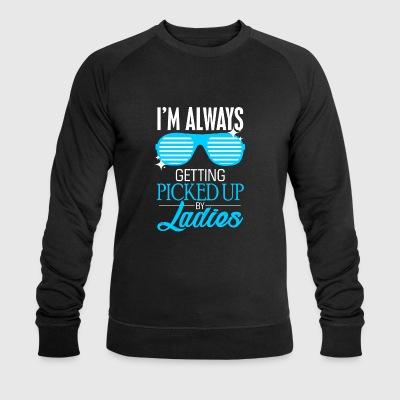 Blind Guide Dog Ladies Gift - Men's Organic Sweatshirt by Stanley & Stella