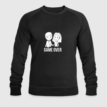 Marié! Game over! - Sweat-shirt bio Stanley & Stella Homme