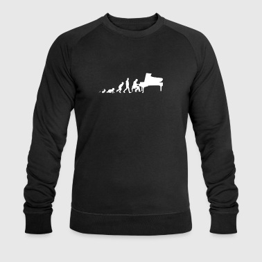 Shirt Pianista Fun Gifts Grow Evolution - Felpa ecologica da uomo di Stanley & Stella