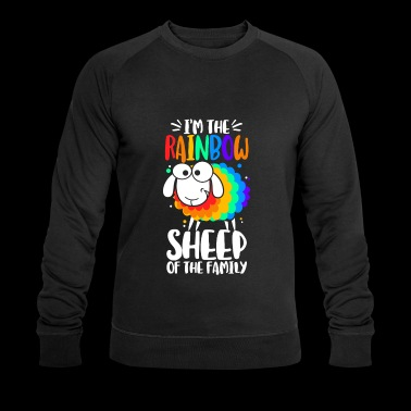 I'm the rainbow sheep of the family - Men's Organic Sweatshirt by Stanley & Stella
