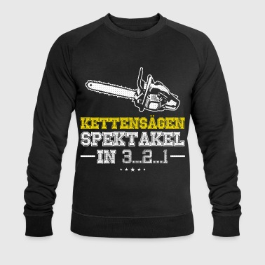chainsaw playing GER1 - Männer Bio-Sweatshirt von Stanley & Stella