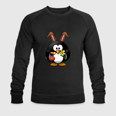 Easter penguin - Men's Organic Sweatshirt by Stanley & Stella