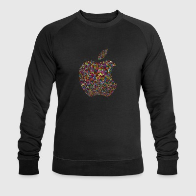 Apple logo dollar sign - Men's Organic Sweatshirt by Stanley & Stella