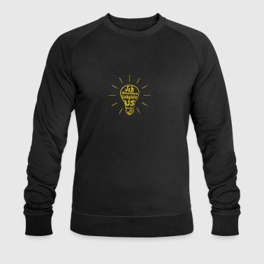 Jah Enlighten Us - Men's Organic Sweatshirt by Stanley & Stella