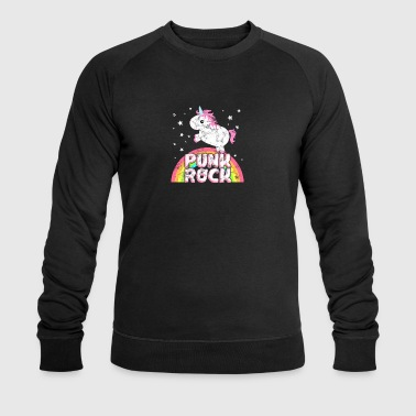 Cool ironique punk rock Unicorn - Sweat-shirt bio Stanley & Stella Homme