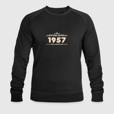 Gift for 60 year olds, 60th birthday, 1957 - Men's Organic Sweatshirt by Stanley & Stella